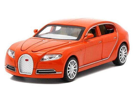 Red /Yellow /White / Orange 1:32 Diecast Bugatti 16C Galibier