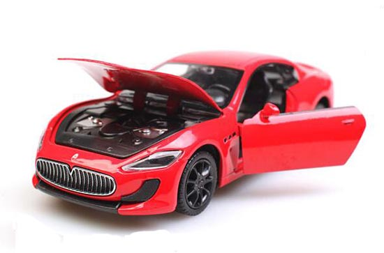 White / Red / Blue 1:32 Kids Die-Cast Maserati Gran Turismo Toy