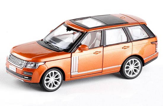 1:32 Orange / Blue / Champagne Kids Die-Cast Range Rover Toy