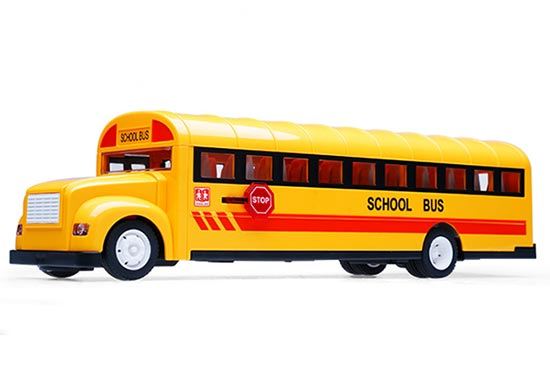 Kids Yellow Full Functions Opening Bus Door R/C U.S. School Bus