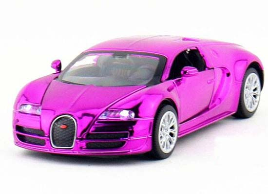 Red /Golden /Blue /Purple 1:32 Scale Kids Diecast Bugatti Veyron