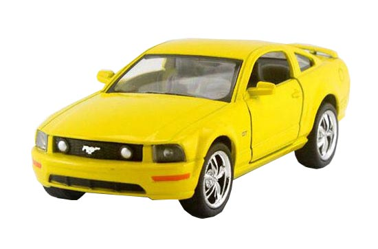 Kids Yellow / Green / Red / Blue 1:36 Diecast Ford Mustang GT