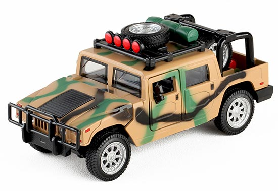 Camouflage Painting Kids 1:32 Scale Die-Cast Hummer Toy