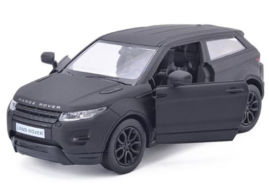 Kids 1:36 Scale Black Diecast Range Rover Evoque Toy