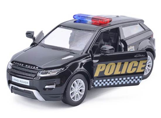 Black Kids 1:36 Scale Police Die-Cast Land Rover Range Rover Toy