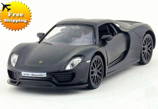 Black / White /Red / Blue / Gray Diecast Porsche 918 Spyder Toy