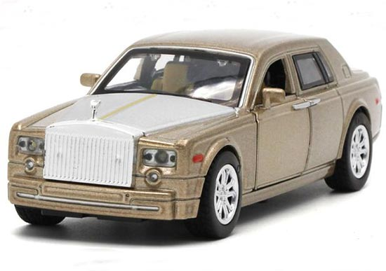 Kids 1:32 Black / Red / Blue / Golden Diecast Rolls-Royce Toy