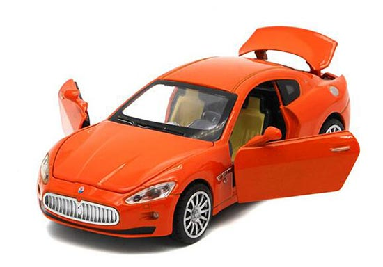 Kids 1:32 Red /Yellow /Orange /White Diecast Maserati Ghibli Toy