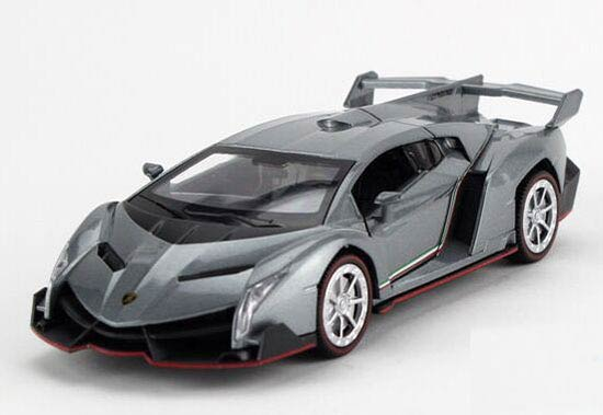 kids 132 yellow pink green gray diecast lamborghini veneno