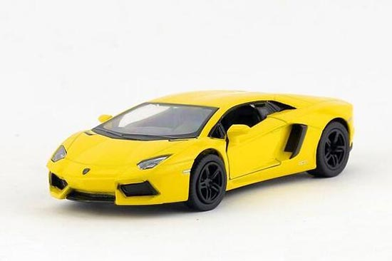 Yellow / Red / White / Gray Kids Diecast Lamborghini Aventador