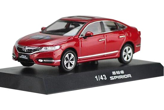 Red 1:43 Scale Diecast Honda SPIRIOR Model