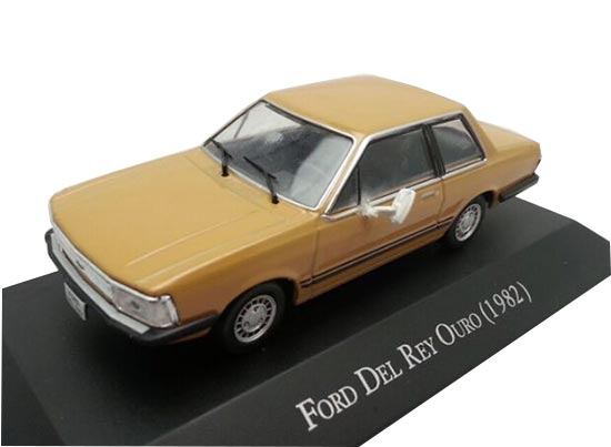 Golden 1:43 Scale IXO Diecast Ford DEL REY OURO 1982 Model