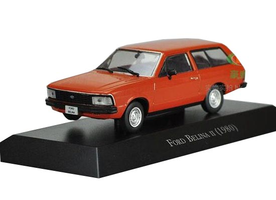 Orange 1:43 Scale IXO Diecast Ford Belina 1980 Model