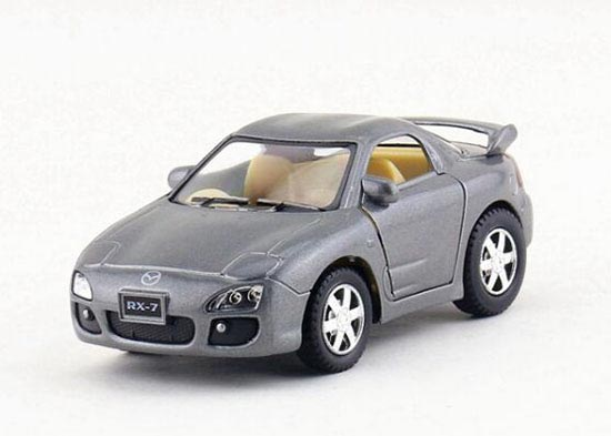 Gray / Red / Yellow / Silver Kids Die-cast Mazda RX-7 Toy