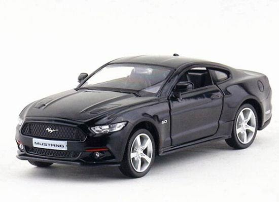 1:36 Red / Yellow / White / Black Diecast 2015 Ford Mustang GT