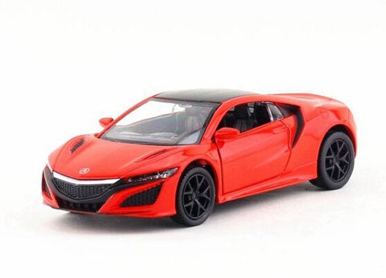 Blue / Black / Red / White Kids 1:36 Diecast Acura NSX Toy