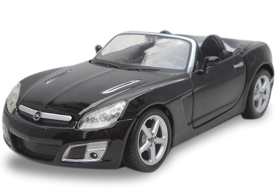 1:24 Scale Maisto Black Diecast 2008 Opel GT Model