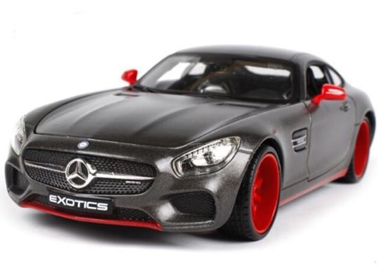 Black 1:24 Maisto Diecast Mercedes Benz AMG GT Model
