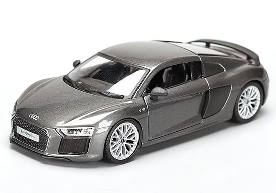 Blue 1:24 Scale Maisto Diecast Audi R8 V10 Plus Model