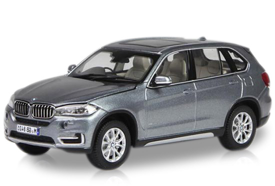 1:43 Scale Gray / White Paragon Diecast BMW X5 Model