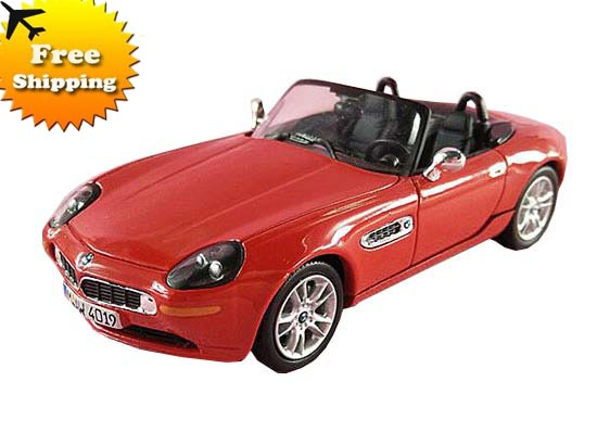 Kids Red / Black 1:43 Scale Diecast BWM Z8 Toy