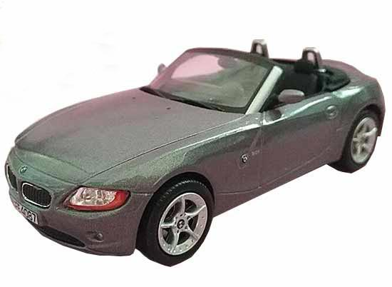 Red / Gray 1:43 Scale Kids Diecast BMW Z4 Toy