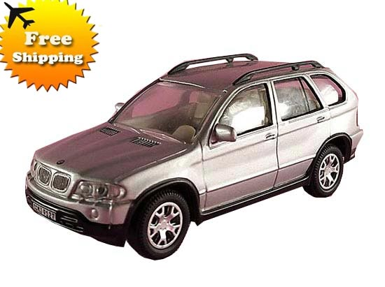 Silver Kids 1:43 Scale Diecast BMW X5 Toy