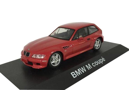 1:43 Scale Red Schuco Die-Cast BMW M Coupe Model