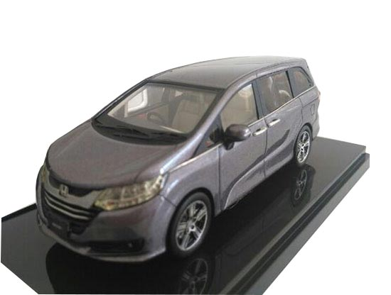 Gray / Black 1:43 Scale Die-Cast 2013 Honda Odyssey G-EX Model