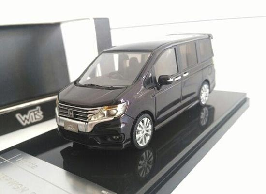 Black 1:43 Scale Die-Cast Honda Stepwgn Spada Model
