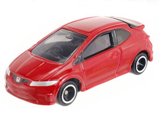 Red Kids 1 68 Scale Diecast Honda Civic Type R Euro Toy Nb1t593