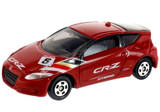 1:61 Scale Red Kids Tomy Tomica Die-cast Honda CR-Z Toy