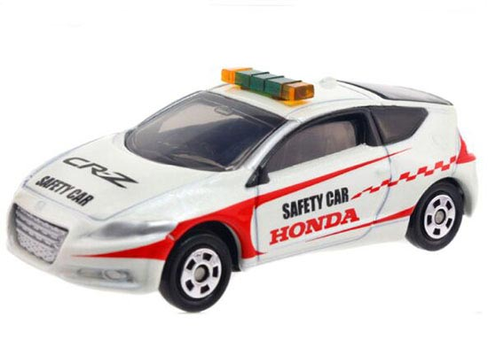 1:61 White Kids Tomy Tomica Diecast Honda CR-Z Saftey Car Toy