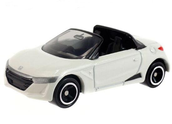 1:56 White / Yellow Tomy Tomica NO.98 Diecast Honda S660 Toy