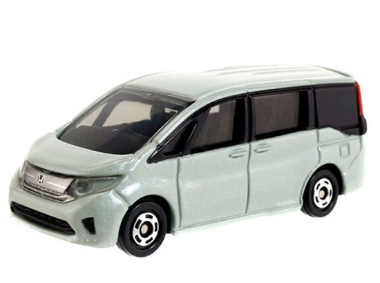 Kids 1:65 Silver Tomy Tomica NO.96 Die-cast Honda Step WGN Toy