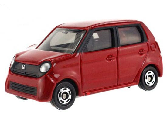 Red Kids 1:58 Tomy Tomica NO.81 Diecast Honda N-ONE Toy