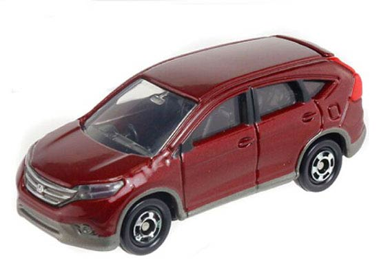 Kids 1:66 Scale Red Tomy Tomica NO.118 Diecast Honda CR-V Toy