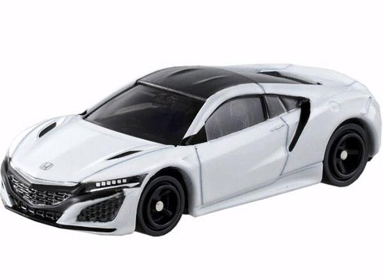1:62 White /Red Tomy Tomica NO.43 Die-cast Honda Acura NSX Toy