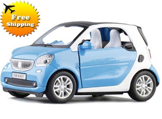 Bright Colors Kids Cast Mercedes Benz Smart Fortwo Toy