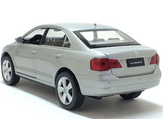 1 32 Scale White Silver Kids Diecast Vw New Jetta Toy Nb1t615
