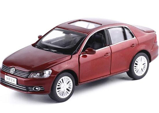 1:32 Scale Silver Kids Diecast VW New Bora Toy