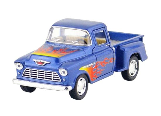 Blue / White / Red / Black Diecast Chevrolet Pickup Truck Toy
