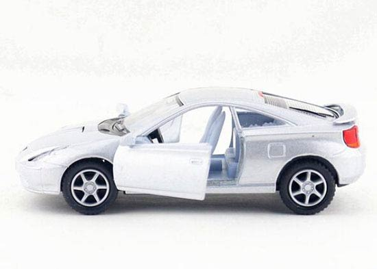 Yellow /Black / Red / Silver Kids 1:34 Diecast Toyota Celica Toy