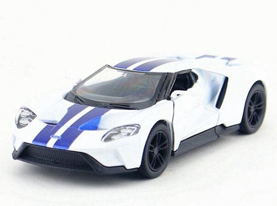 1:38 Gray / Red / Blue / White Kids Diecast 2017 Ford GT Toy