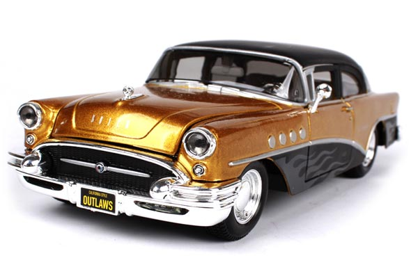 Black 1:26 Scale Maisto Diecast 1955 Buick Century Model