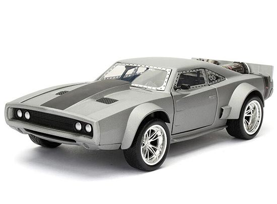 1:24 Scale Silver JADA Diecast Dodge Ice Charger Model
