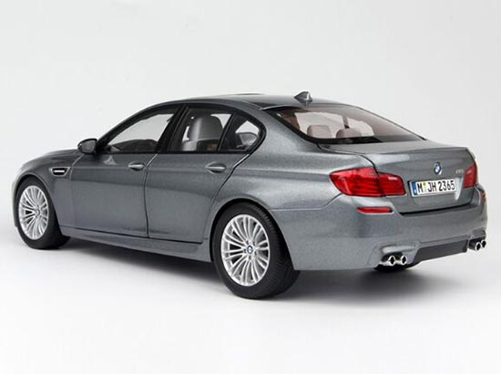 Gray / Black 1:18 Scale Diecast BMW M5 Coupe Model