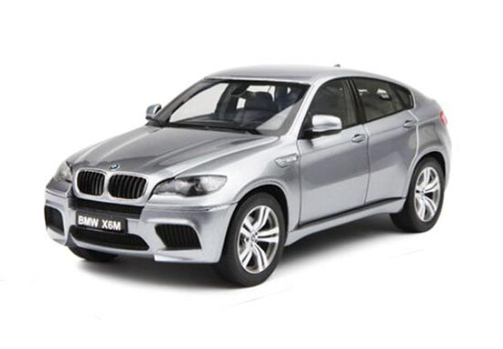 1:18 Scale White / Silver Kyosho Diecast BMW X6 M Model