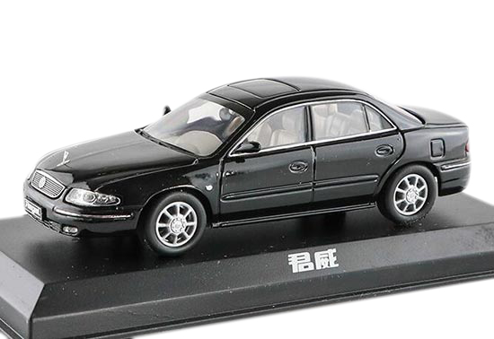 Black / White 1:43 Scale Old Version Diecast Buick Regal Model