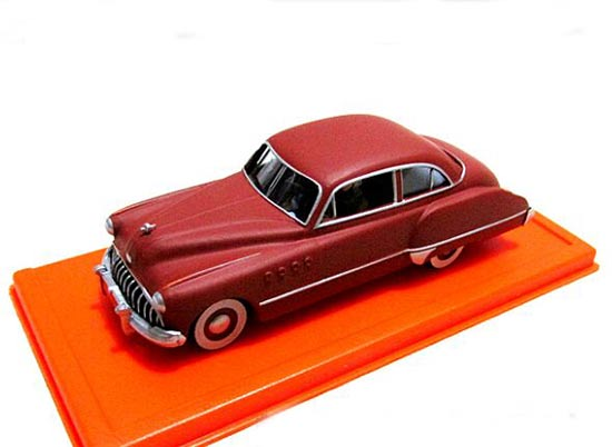 1:43 Scale Red Diecast Buick Roadmaster Model